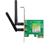 TP-LINK Wireless-N PCI Express Adapter [TL-WN881ND] - Network Card Wireless